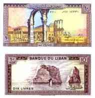 Liban 10 LIVRES Pick 63f NEUF - Liban