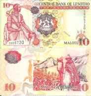 Lesotho 10 MALOTI Pick 15e NEUF - Lesotho