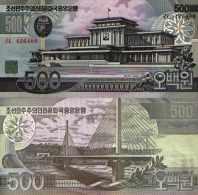Corée Du Nord 500 WON Pick 44 NEUF - Korea, North
