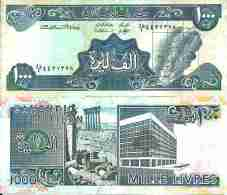 Liban 1000 LIVRES Pick 69c Neuf - Liban