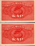 Lettonie - Latvia - 5 KAPEIKAS (1920)  Pick 9 NEUF - UNC - Lettonie