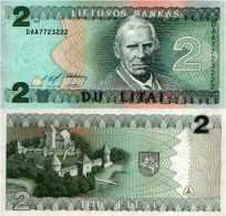 Lituanie 2 LITAI Pick 54a NEUF - Lituanie