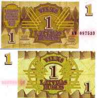 Lettonie 1 RUBLIS Pick 35 NEUF - Lettonie