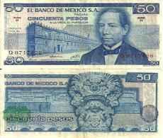 Mexique 50 PESOS Pick 65a TTB - Mexique