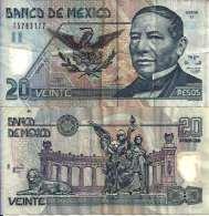 Mexique - Mexico 20 PESOS 26/3/2002 - Pick 116c TB+ (Fine) - Mexico
