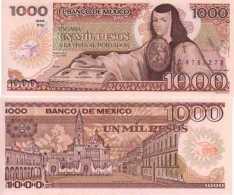 Mexique - Mexico 1000 PESOS 1985 Pick 85 NEUF - UNC - Mexique
