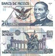 Mexique - Mexico 20 PESOS 26/3/2002 - Pick 116c Sup (XF) - México