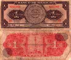 Mexique 1 PESO Pick 59j TB+ - Mexique