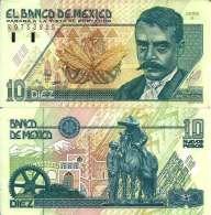 Mexique - Mexico 110 PESOS (10/12/1992) Pick 99 Sup+ (XF:AU) - México