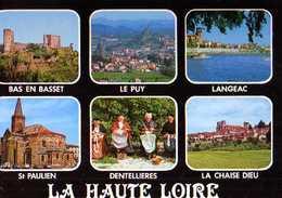 43 Haute Loire Touristique,Bas En Basset,Le Puy, Langeac,St Paulien,dentellieres,La Chaise Dieu - Frankreich