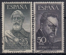 ESPAÑA 1953 Nº 1124/25 SERIE COMPLETA USADA  CENTRADO NORMAL - 1951-60 Usados