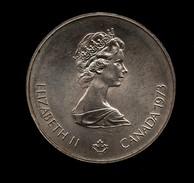 CANADA 5 DOLLARS 1976 OLYMPIADE XXI MONTREAL AG SILVER - Canada