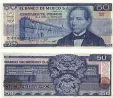 Mexique - Mexico 50 PESOS (1981) Pick 73 TTB - México