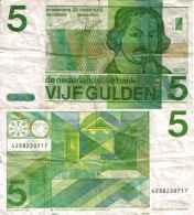 Pays-bas - Netherlands 5 GULDEN (1973) Pick 95 TB+ - [3] Ministerie Van Oorlog Issues