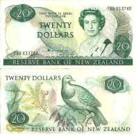 Nouvelle-Zélande - Zealand  20 DOLLARS (1981 - 85) - Pick 173a TTB (VF) - Nouvelle-Zélande