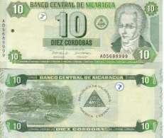 Nicaragua 10 CORDOBAS Pick 191 NEUF - Nicaragua