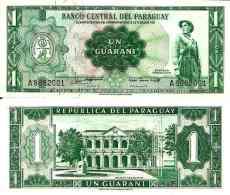 Paraguay 1 GUARANI (L 1953 - Pick 193a UNC - Paraguay