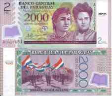 Paraguay 2000 GUARANIES 2008 - Pick 228a NEUF ( UNC) - Paraguay