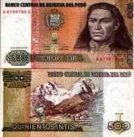 Pérou - Peru 500 INTIS (1987) Pick 134b AU - SUP - Perú