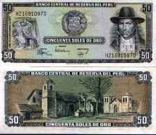 Pérou - Peru 50 SOLES DE ORO Pick 113 1977 - NEUF (UNC) - Pérou