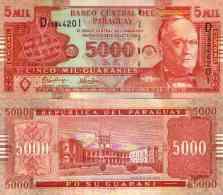 Paraguay 5000 GUARANIES New NEUF - Paraguay