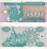 Ukraine 500 KARBOVANTSIV 1992 - Pick 90r NEUF (UNC) - Ukraine
