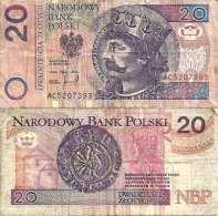 Pologne - Poland 20 ZLOTYCH 1994 - Pick 174 TB (Fine) - Pologne