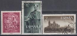 ESPAÑA 1953 Nº 1126/28 SERIE COMPLETA USADA - 1931-Hoy: 2ª República - ... Juan Carlos I