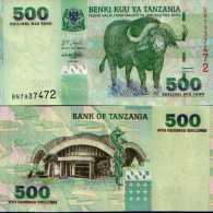 Tanzanie - Tanzania 500 SHILINGI (2003) Pick 35 NEUF-UNC - Tanzanie