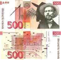 Slovénie 500 TOLARJEV Pick 16c (15/1/2005) NEUF - Slovénie