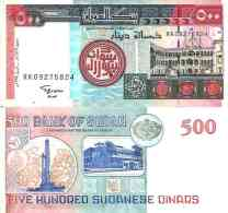 Soudan - Sudan 500 DINARS Pick 58b NEUF - Sudan