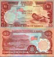 Samoa (îles) 5 TALA (1985) Pick 26 NEUF (UNC) - Samoa