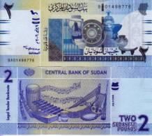 Soudan 2 POUNDS Pick 65 NEUF - Sudan