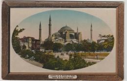 CONSTANTINOPLE (TURQUIE) - EXTERIEUR DE LA MOSQUEE SAINTE SOPHIE - Turkije