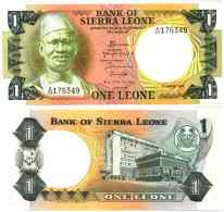 Sierra Leone 1 LEONE(1984)  Pick 5e NEUF (UNC) - Sierra Leone