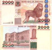Tanzanie 2000 SHILINGI Pick 37a NEUF - Tanzanie