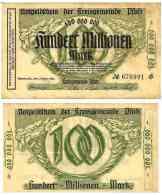 SPEYER - 100 000 000 Mk -1/10/1923 - Keller 4834 TTB - [11] Lokale Uitgaven