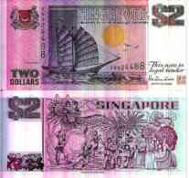 Singapore - Singapore 2 DOLLARS Pick 34 Unc - Singapour