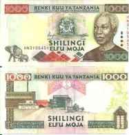 Tanzanie - Tanzania 1000 SHILINGI 2000 - Pick 34 NEUF (UNC) - Tanzanie