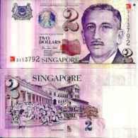 Singapore - Singapore 2 DOLLARS Pick 45 Unc - Singapour