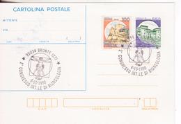 160-Storia Postale-Marcofilia-Tema:Medicina-Annullo Speciale Bronte-2° Congresso Int.le Bioncologia-Leonardo Da Vinci - 6. 1946-.. Repubblica