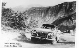 Lancia Flavia Zagato  -  Rallye Coupe Des Alpes 1965  - Pilote: René Trautmann   -  CP - Rally