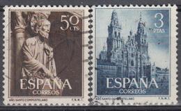 ESPAÑA 1953 Nº 1130/31 SERIE COMPLETA USADA - 1951-60 Usados