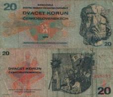 Tchécoslovaquie 20 KORUN Pick 92 TTB - Tchécoslovaquie