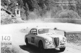 Lancia Aurelia B20 GT  -  Rallye Coupe Des Alpes 1952  - Pilote: Gatta/Ickx   -  CP - Rally