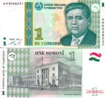 Tadjikistan 1 SOMONI Pick 14 NEUF - Tajikistan