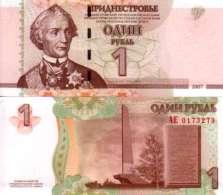 Transnistrie 1 RUBLE Pick 42 NEUF - Billets