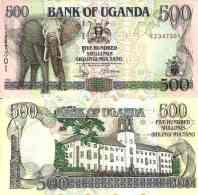 Ouganda - Uganda 500 SHILLINGS 1998 - Pick 35b NEUF- UNC - Uganda