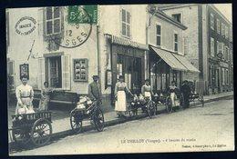 Cpa  Du 88 Le Thillot 6 Heures Du Matin Livreurs Lait Devant Magasin Nottier éditeur De Cartes Postales    NCL88 - Le Thillot