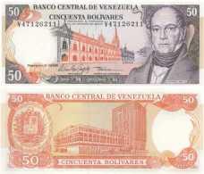 Venezuela 50 BOLIVARES Pick 65f NEUF - Venezuela